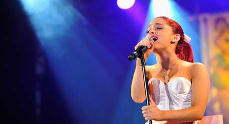 top searched Ariana-Grande-musician