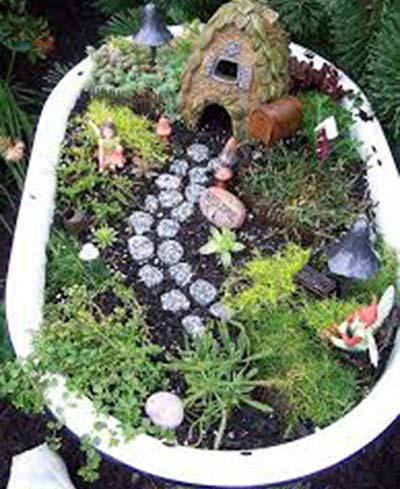 DIY-Wash-Tub-House-Fairy