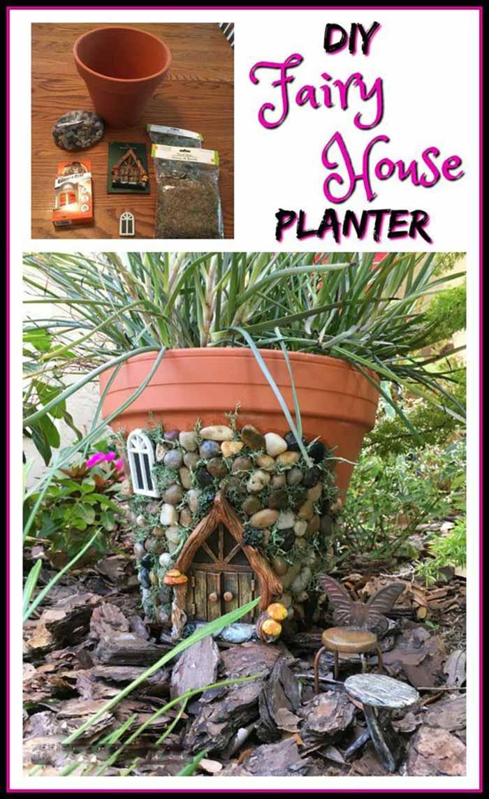 DIY-fairy-house-planter