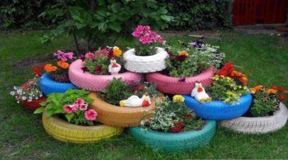old-tires-garden
