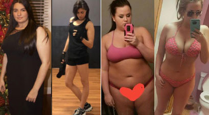 15 Women Photos Who Looking Young And Beautiful After Weight