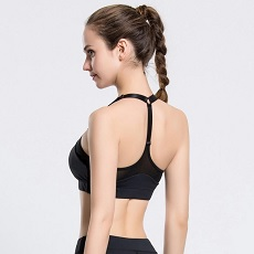Athletic bra shape
