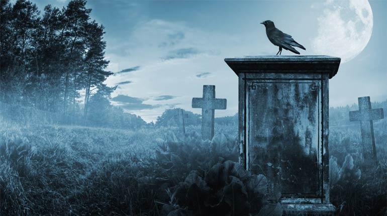 Cemetery-halloween-idea