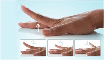 Finger Lifts exercise