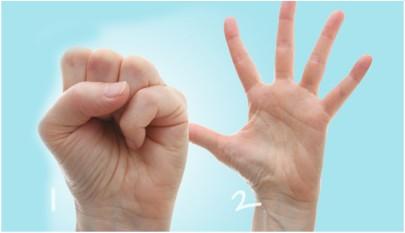 Finger Spread exercise