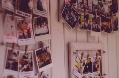Dorm walls photograph