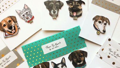 Pet Picture Magnet Stickers