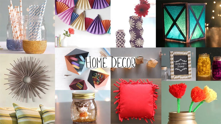 Home Decoration With Old Items
