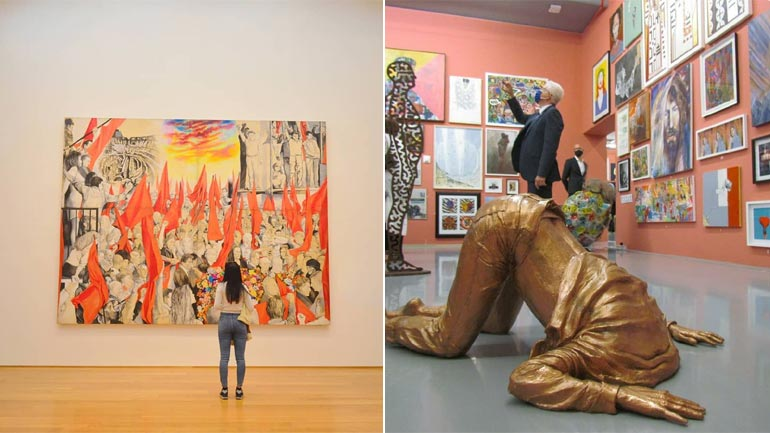 Difference between Art Gallery and Museum