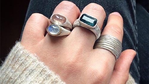Choose Silver Rings Jewellery