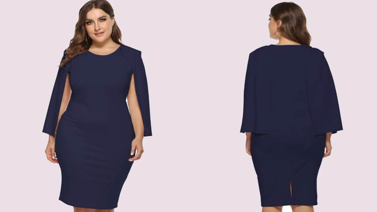 Plus-Size-Floral-dresses