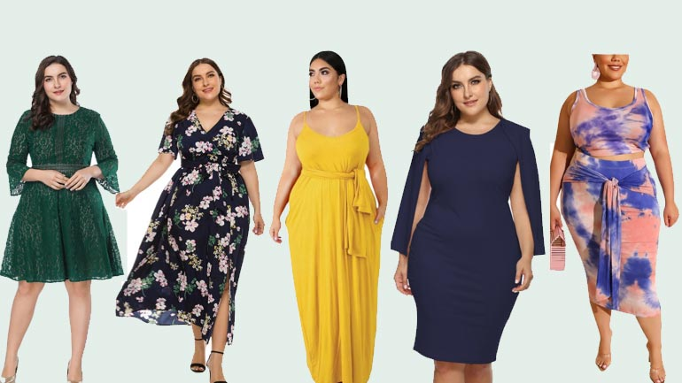 Sexy Plus Size Dresses Ladies