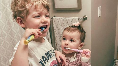 Children-Brushing-Hygiene